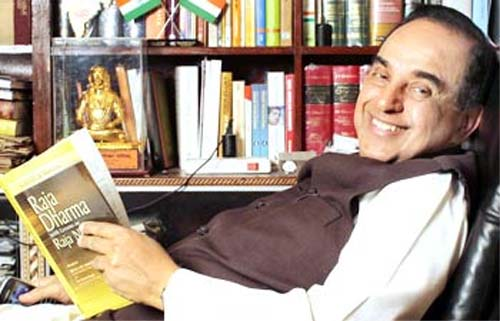 @Swamy39 For me the answer is very simple  Dr Subramanian Swamy: the Man who owes his allegiance only to Mother land  & Sanatan Dharma and has his Smile intact from then to now