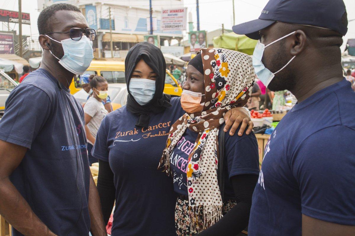 MARKET INVASION   Market invasion at the Ashaiman Market with the Greater Accra Directorate  #CervicalCancer #ZurakCancerFoundation