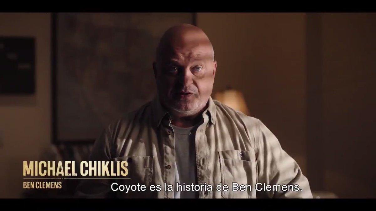 Conoce a Ben Clemens (@MichaelChiklis), el protagonista de #CoyoteAXN, la nueva serie de @AXN_Espana.   Ya disponible el primer episodio bajo demanda en Movistar+.