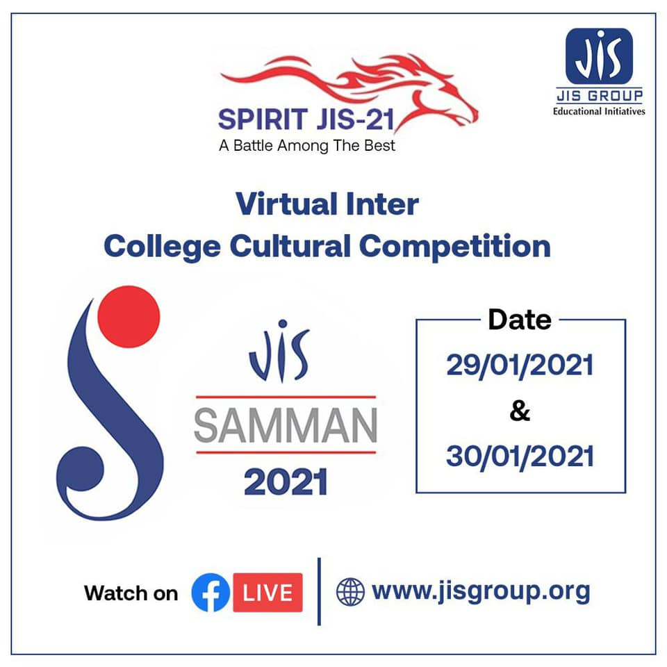 JIS Group will also be hosting an inter-college competition