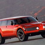 Image for the Tweet beginning: The 1999 #Mitsubishi SSU Concept