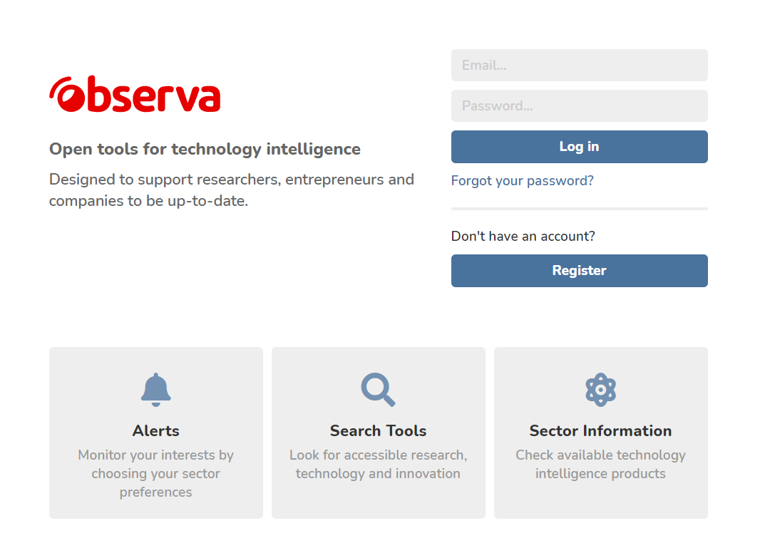 Find out #Observa, #opentools for technology intelligence on #NewOVTT:  #osint #techintelligence #competitiveintelligence #businessintelligence #tools #opentools #search #alerts #sectorinformation