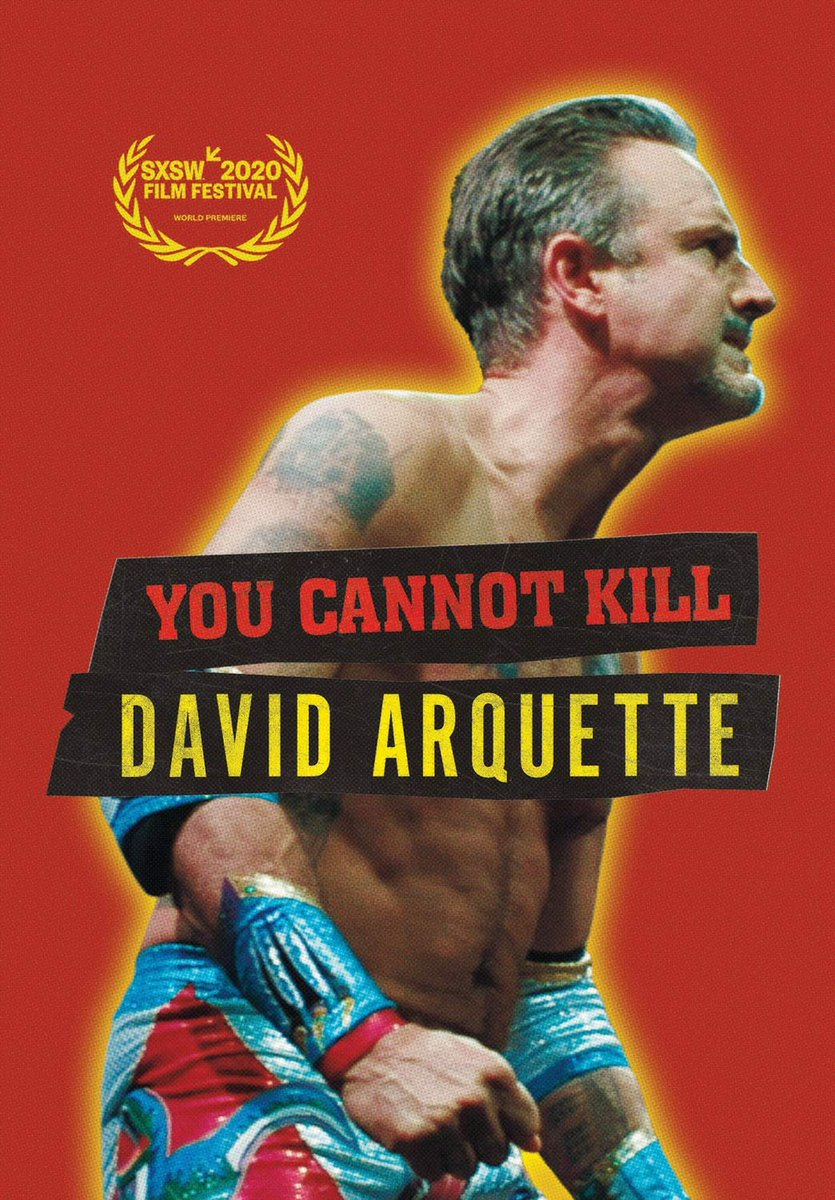 Any old school wrestling fans will enjoy this doc, a great story of redemption. I think it's time to forgive @DavidArquette   #davidarquette #WWE #WCW #ecw #oldschoolwrestling #wrestling #WrestlingCommunity