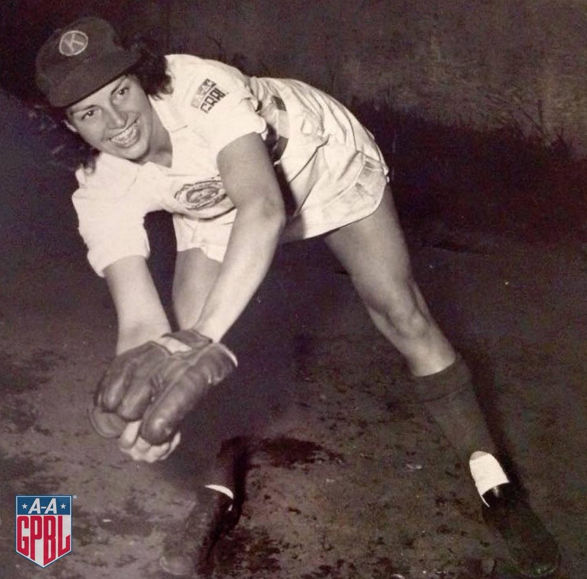 Christine Jewitt Beckett played two seasons in the #AAGPBL as an outfielder for the Kenosha Comets and was traded to Peoria halfway into the 1949 season.  STATS: