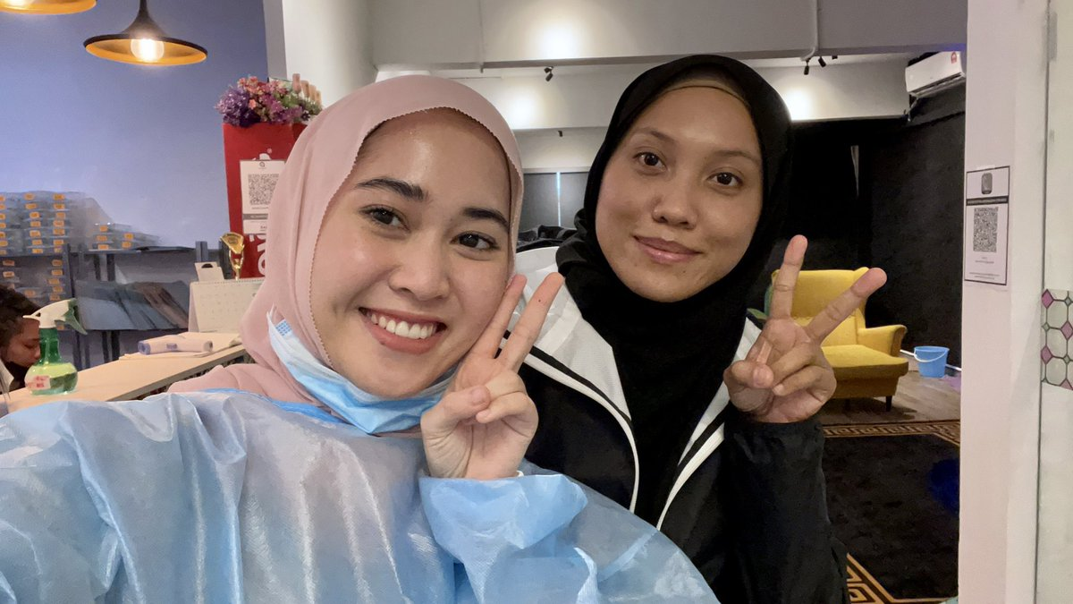 also harini @gadesgigibesi datang hehe thank you babe for coming ✨💕
