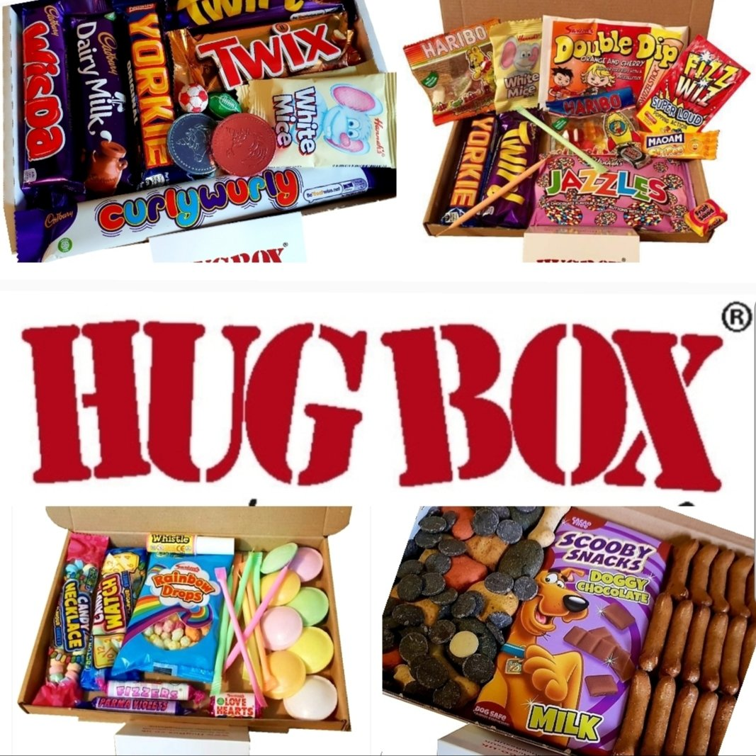 Letterbox Friendly HUG BOX from £6 😁  #hug #Birthday #Thanks #GetWell #Smile #ThinkingOfYou #CheerUp #Personalised #message #Gift #Emergency #hug #ThankYou #WellDone #dog #vegan #Congratulations #GiftIdea #valentine #bighug #valentinesdaygift #missyou