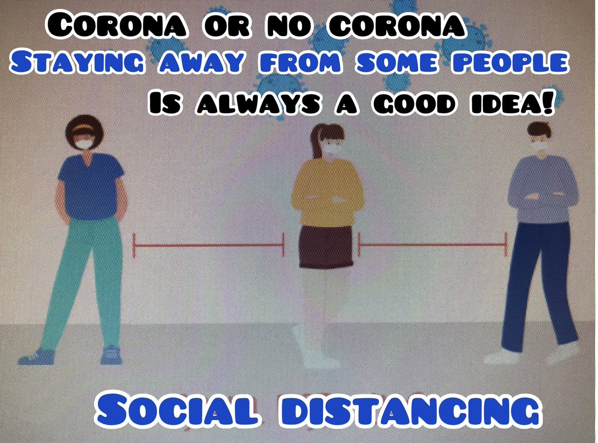 Corona or no corona Staying away from some people is always a great idea! #quoteoftheday #January26 #tuesdaymotivations #tuesdayvibe #Tuesdaymorning #Tuesdaythought #January2021 #lockdown2021 #Morning #HappyTuesday #Friends