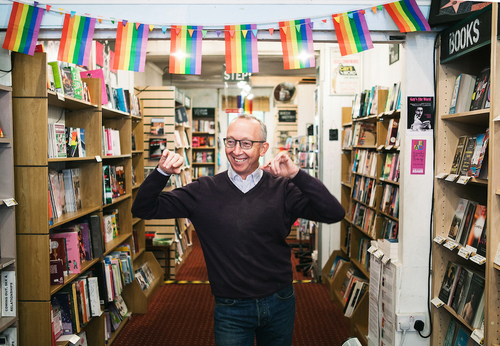 "In @alimkheraj upcoming book 'Queer London - A Guide to the City's LGBTQ+ Past and Present' , historian Neil McKenna describes @gaystheword as: ""Like a friend who always stands by our side and encourages us on"" #London #LGBTQ #bookshop"