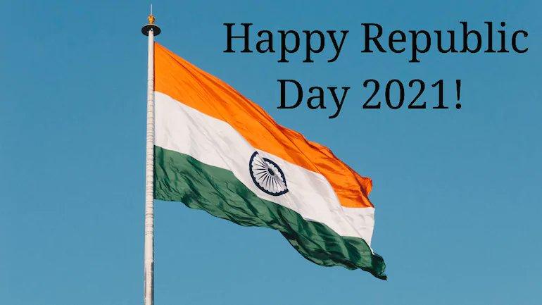 "आप सभी को ""#गणतंत्र_दिवस"" की हार्दिक शुभकामनाएँ   #RepublicDay2021 #HappyRepublicDay2021 #constitutionofindia #Tiranga #JaiHind #IndianArmy #FarmersProstests #tuesdayvibe #tuesdaymotivations"