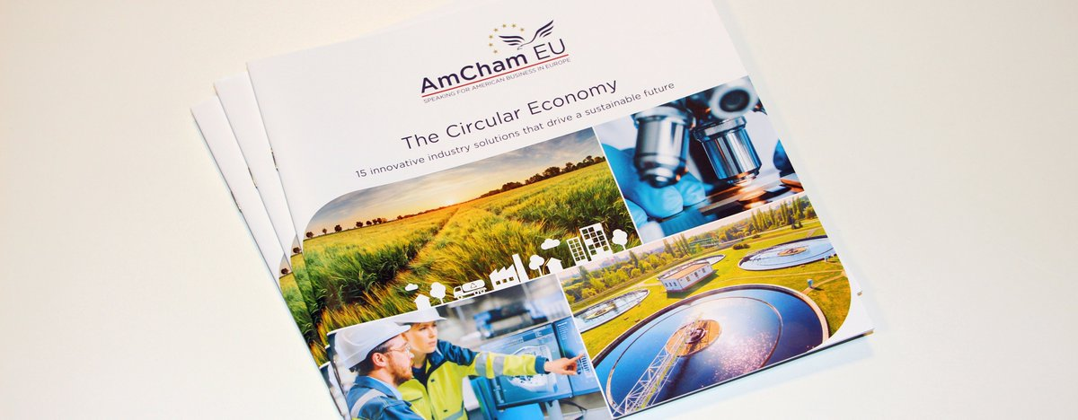 The #GreenDeal was a big priority for @AmChamEU in 2020. The circular economy brochure we published last March is a great example of the work we did to support efforts to move towards a #lowcarbon economy – this will continue to be key in 2021. #Bestof2020