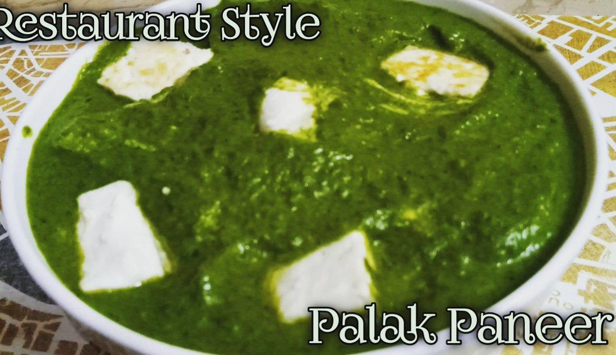 #Palakpaneer #Restuarantstyle #homemade #cheese #palak #cottagecheese #easyrecipe #RecipeOfTheDay #delicious #Foodies #desi #healthy #tasty #yummy #creamy #perfact