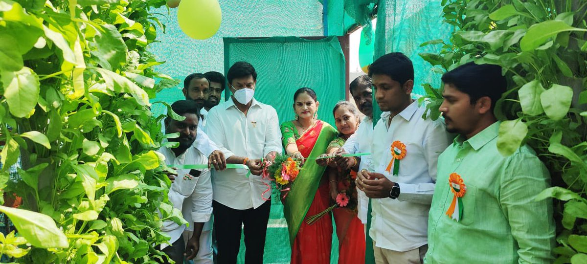 #Congratulations & #bestwishes on the grand opening of 'HydroFarmer' - the unique Vertical #Hydroponics Farm with a mission to supply #Healthy & #Nutritious greens to the future generations.  MDCL Municipal Chairman, Councillor & other important leaders graced the ceremony.