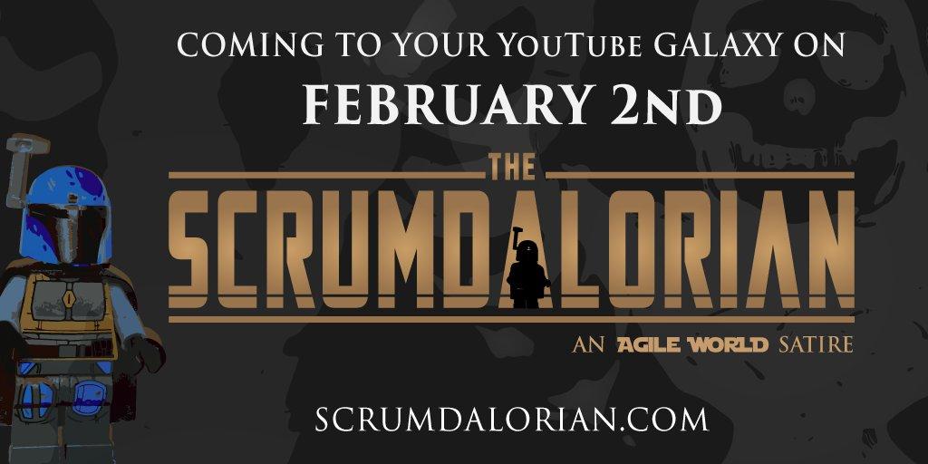Hi Agiles! Nice to meet you! Coming soon to your YouTube galaxy: The #Scrumdalorian – an #agile world #satire. On February 2nd on my new channel  // #scrum #kanban #agilework #ScrumMaster #StarWars #MotU #business #fun