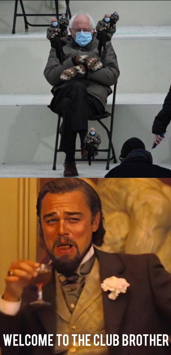 Leo welcomes Bernie 🤣 #twistedsushi #bernie #leo