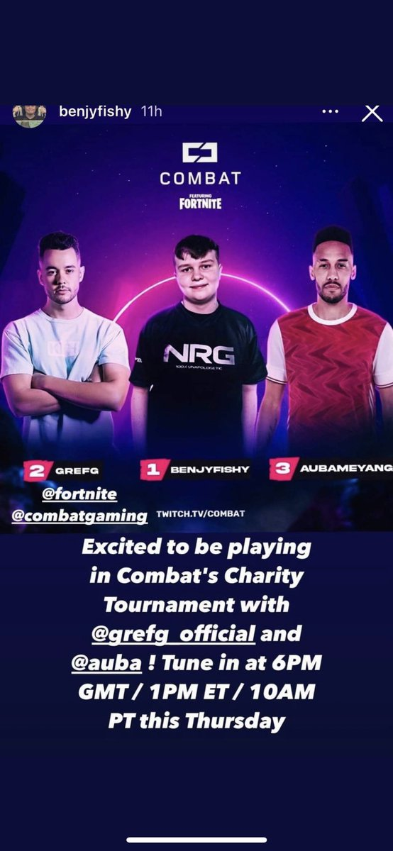 Aubameyang's' personal matters' were a Fortnite tournament. Someone hold me😭😭😭