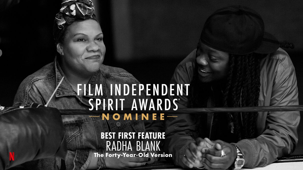 The Forty-Year-Old Version is nominated for Best First Feature! #SpiritAwards