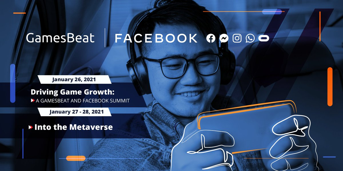 We are excited to start off Day 1 of our GamesBeat & Facebook Summit: Driving Game Growth!   📢 Join us in the lounge starting at 8:30 am PT for Opportunities for Growth in 2021: The Facebook Perspective. ➡️    #GBSummit
