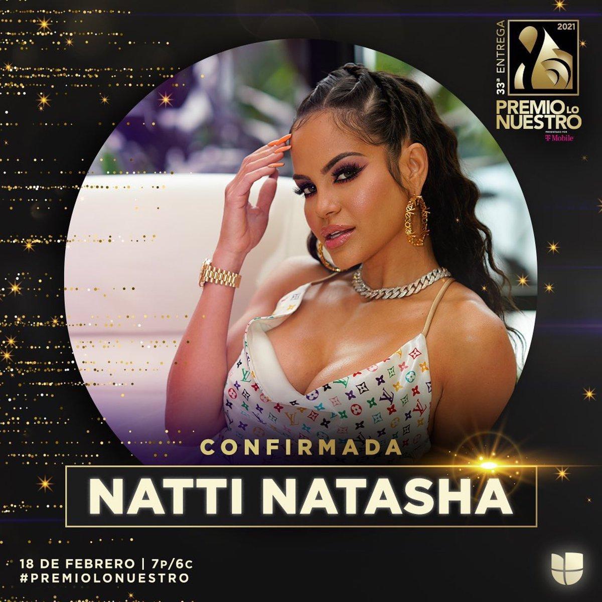 Replying to @premiolonuestro: ¡RD presente! @nattinatasha nos regalará su mejor versión en #PremioLoNuestro 🇩🇴