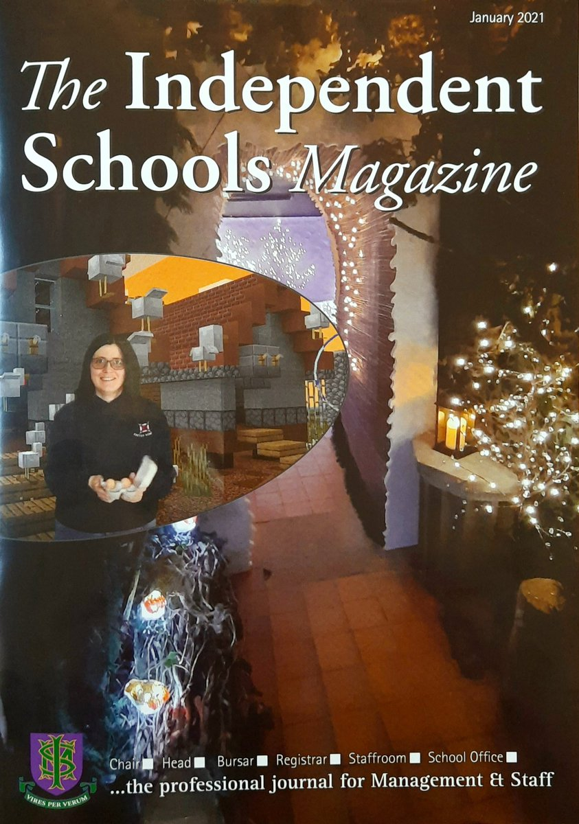 Do you recognise anything? Prospect Lane and our fab Maintenance Team on the cover of Independent Schools Magazine!  #independentschoolsmagazine #independentschools #prospectlane #shebbearcommunity #amazingstaff