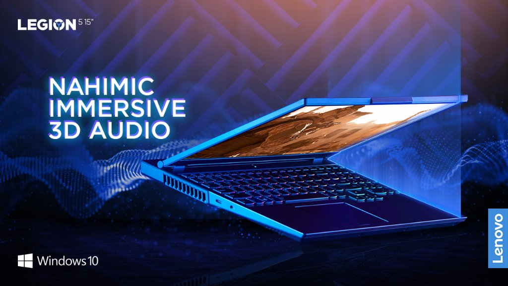Vibrant and rich with details, @nahimic immersive 3D audio offers you crystal clear communication with teammates for the perfect in game comms experience.  Powered by @windows 10, the most popular and versatile gaming platform on the planet.