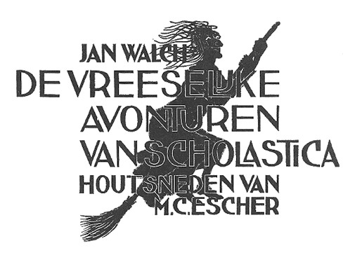 Scholastica (cover), 1931 #expressionism #mcescher