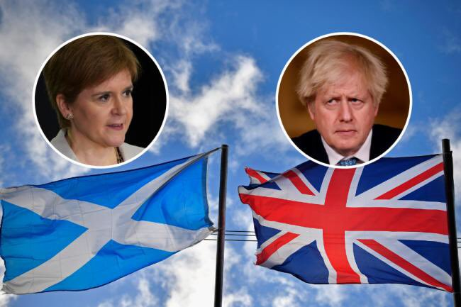 Professor Mark Weller formersenior legal advisor to the UN says Scotland can have a referendum under UN law and it would be legal and recognised by International law and adds that Boris Johnson's *once in a generation* is nonsense rhetoric with no legal standing https://t.co/BCRVIU6MgM