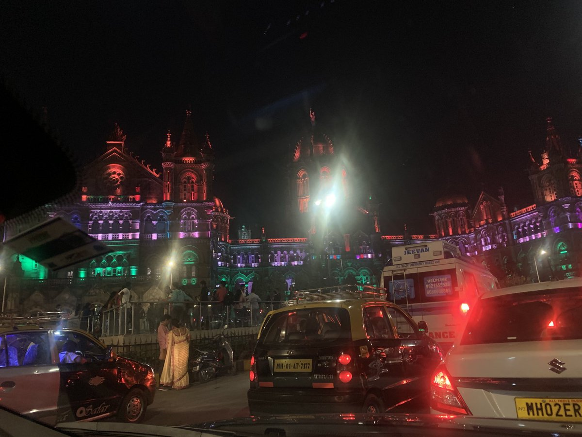 Famous landmarks of #Bombay dressed in #Tricolour lights for #RepublicDay2021   #Night #Lights #Tricolour #RepublicDay2021 #Mantralaya #CST #VidhanBhavan #LIC #NightPhotography #BombayByNight #PointAndShoot #AmateurPhotography #ShotOniPhoneXR