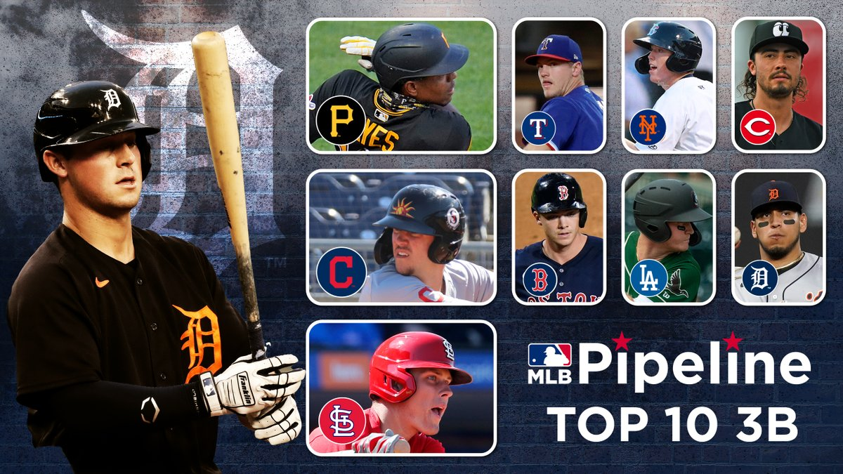 Led by last year's No. 1 overall Draft pick and one of this year's NL ROY frontrunners, here's our brand-new Top 10 3B Prospects list: