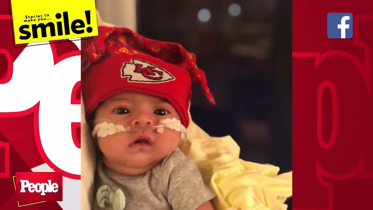See the Adorable Way These NICU Babies Cheered on the Kansas City Chiefs #PEOPLEtheTVShow