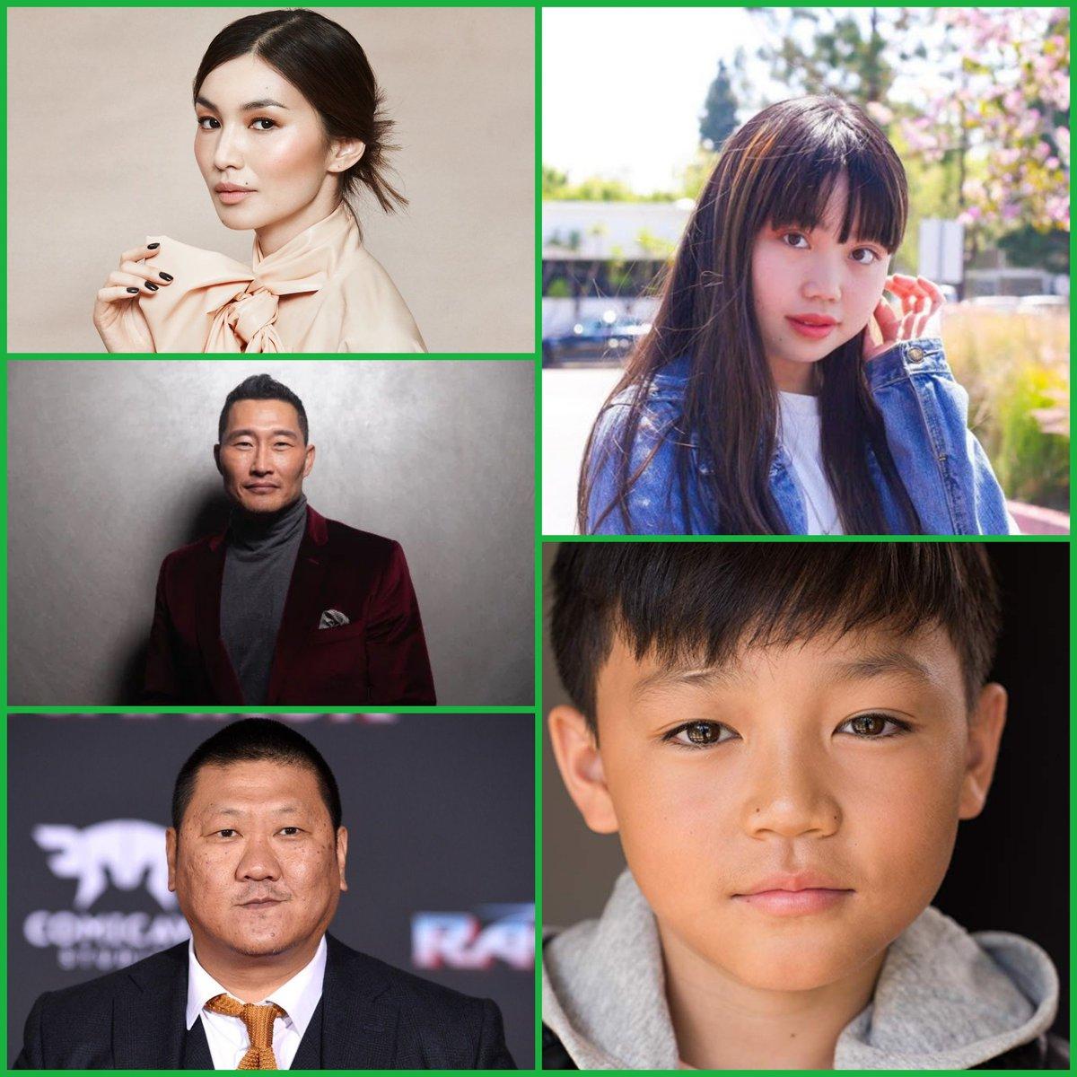 #RayaAndTheLastDragon   🔴 NOVEDAD 🔴  Gemma Chan, Daniel Dae Kim, Benedict Wong, Thalia Tran y Izaac Wang también darán voz a diferentes personajes.