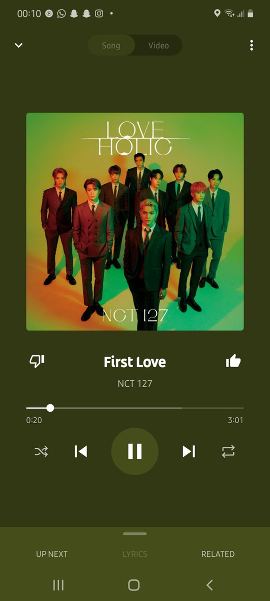 You're my first love! 💓  #NCT127_FirstLove