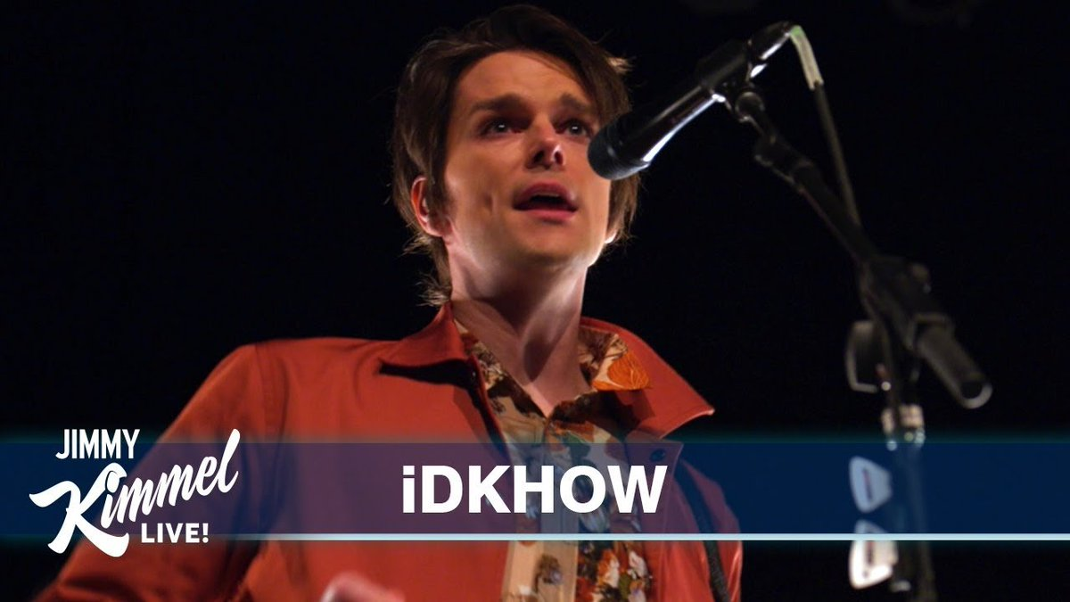 CHECK IT OUT: Watch @iDKHOW make their late-night TV debut on @JimmyKimmelLive