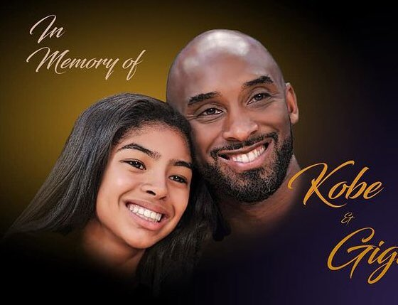 """""""Kobe"""" & """"GiGi"""" You are truly missed 🙏🏾🙏🏾 Your Love& Memories live in our Hearts forever! 💛💜💛💜 #RIPMAMBA #RIPKobeAndGianna  #tuesdaymotivations #tuesdayvibe #TuesdayThoughts 💕💕💙🏀🏀🏀🏀🏀"""
