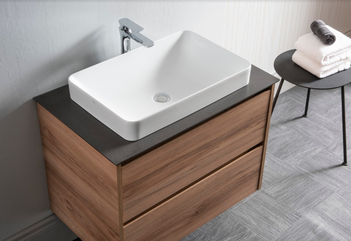 GSI has a wide range of countertop basins for a stylish bathroom look.  All basins have Extraglaze as standard for easy cleaning and a crisp white finish that lasts!  #bathroom #easyclean #interiordesign #design #tuesdayvibe #makeover #inspiration #hygiene #renovation