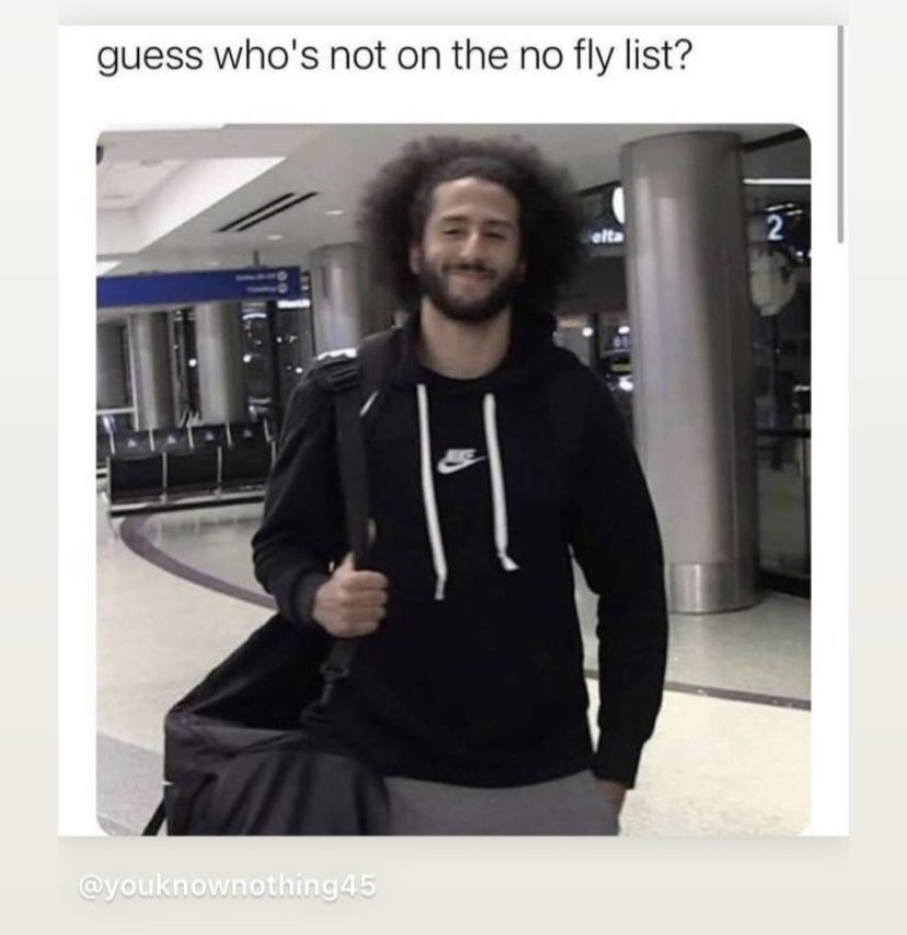 Colin Kaepernick just took a knee before each game and he was called everything but a child of God. A bunch of #MAGATerrorist used an American Flag to beat up cops and they're called #Patriots. #BlueLivesMatter? #TheView #NoFlyList