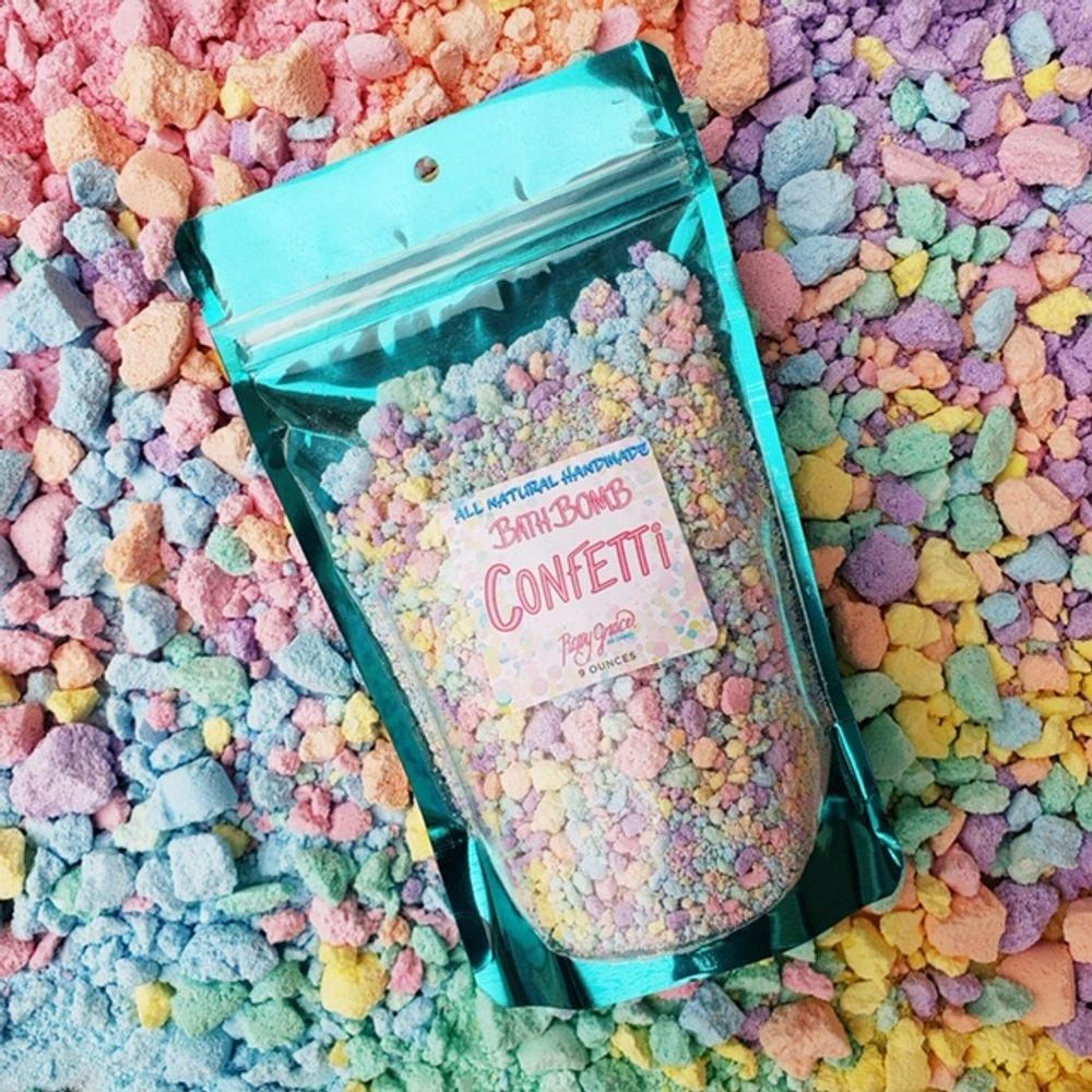 =Roxy Grace Bath Bomb Confetti= =Make Your Next Bath a Little Surprise Party from Rich and Wanda's World=  #fashion #style #clothing #accessories #women #girl #beauty #trend #makeup #cosmetics #hair #eyes #nails #skin