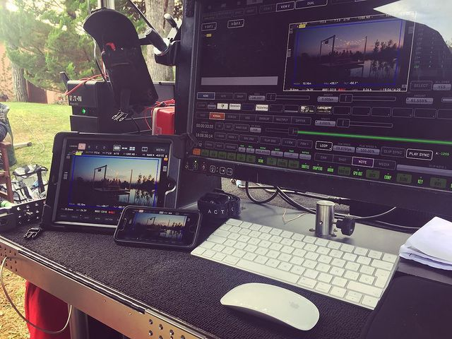 #BehindtheScenes of a #gremlinkvideo shooting with #OvideSmartAssist powered by @QTAKEHD 🎬⠀ ***⠀ #qtake #ovide #ovidesmart #smartassist #videoassist #PoweredByQtake #qtakehd #vtr #filmmaking #filmmaker #moviemaker #filmcrew #onset⠀ 📸  IG #gremlinkvideo