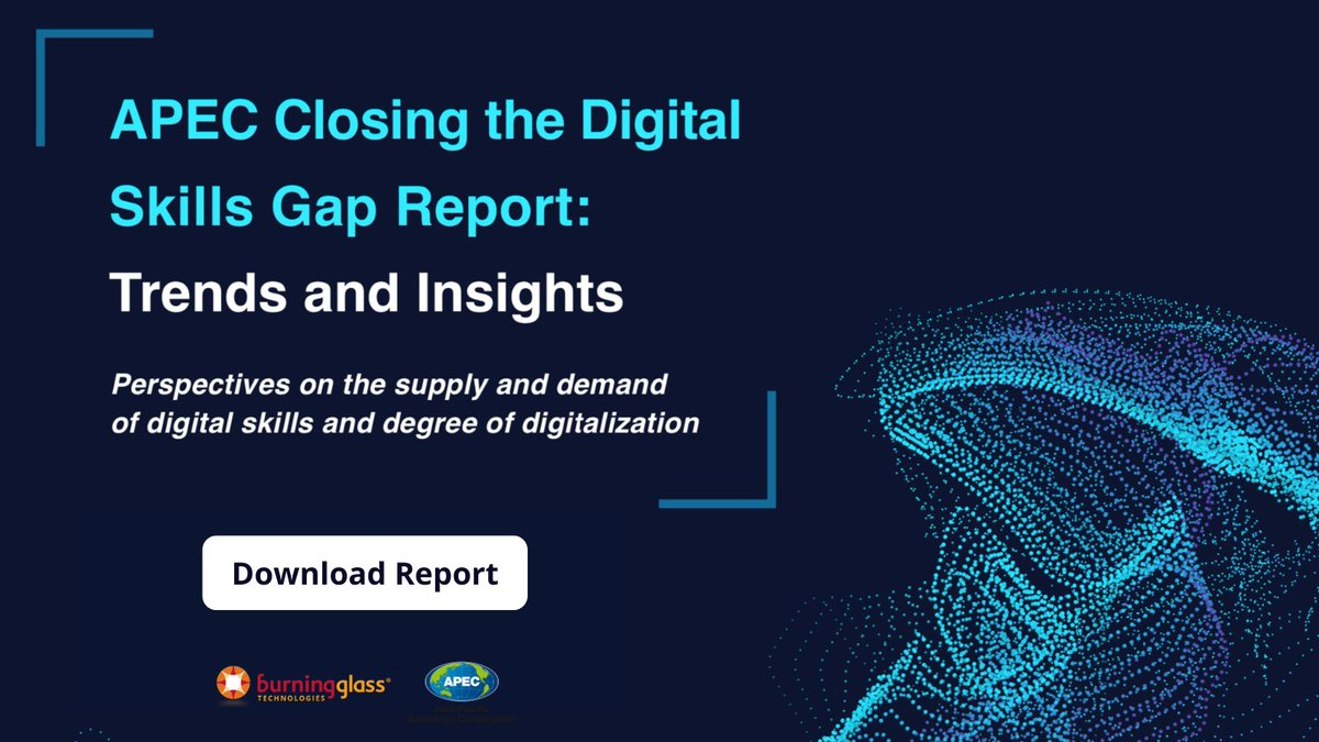 The demand for #digitalskills is global.   @APEC releases new report with Burning Glass Technologies and @LinkedIn, uncovering insights on the recent shift in supply and demand of digital skills in #AsiaPacific economies.