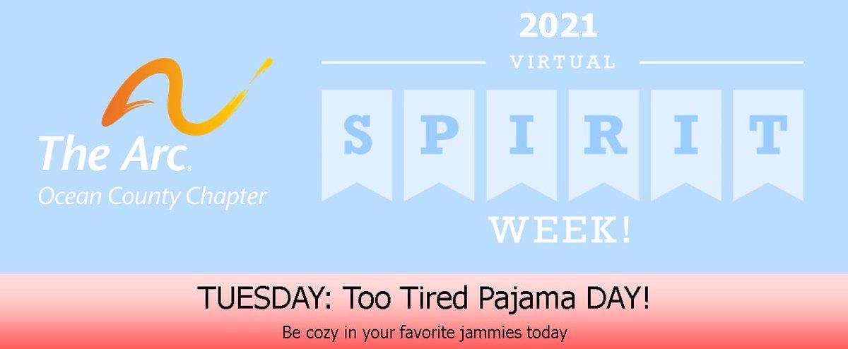 It's #ArcOcean Spirit Week and today is pajama day!   #SpiritWeek2021 #pajama #pjs