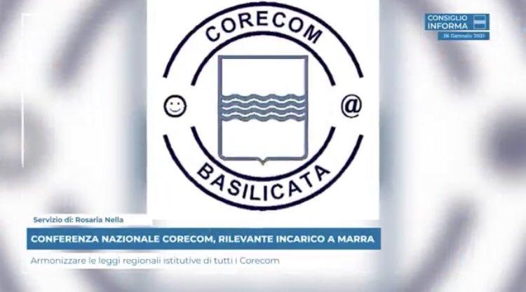 CONFERENZA NAZIONALE CORECOM, RILEVANTE INCARICO A...