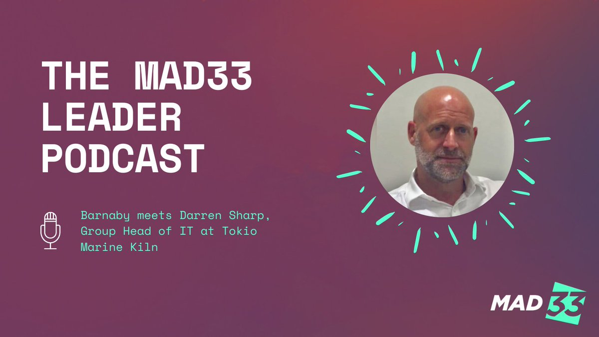 test Twitter Media - Live now, our MAD33 Leadership podcast featuring Darren Sharp Group Head of IT at Tokio Marine Kiln. Develop the leadership approach you need to enhance your impact during this tech-driven era: https://t.co/XNTObxYpks https://t.co/HbEKKomNls