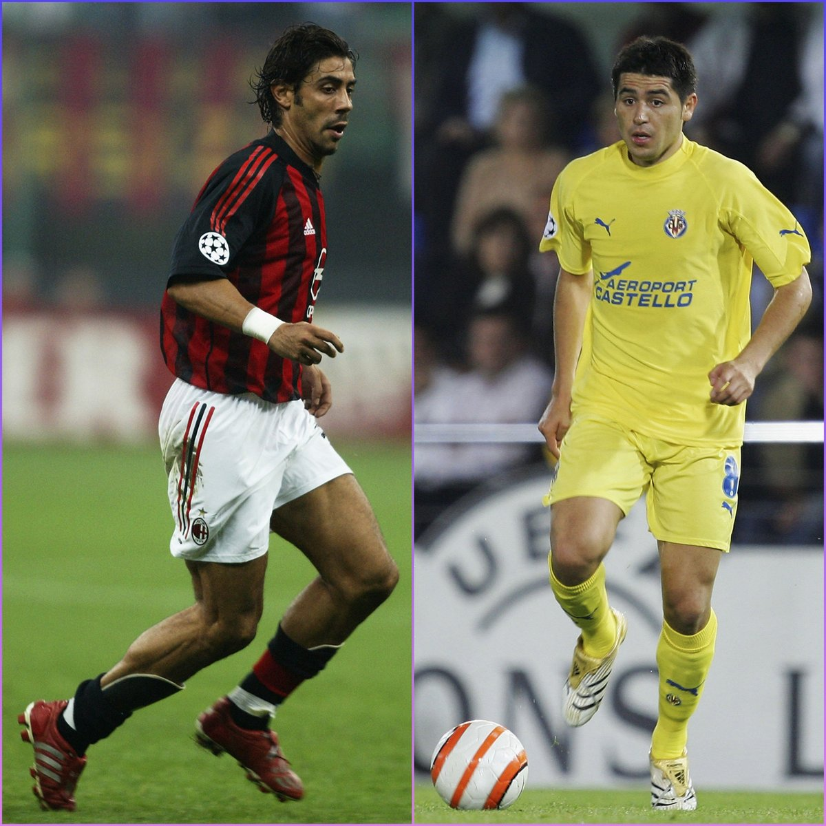 😎 Two smooth operators. Your favourite?  🇦🇷 Juan Román Riquelme 🇵🇹 Rui Costa  #UCL
