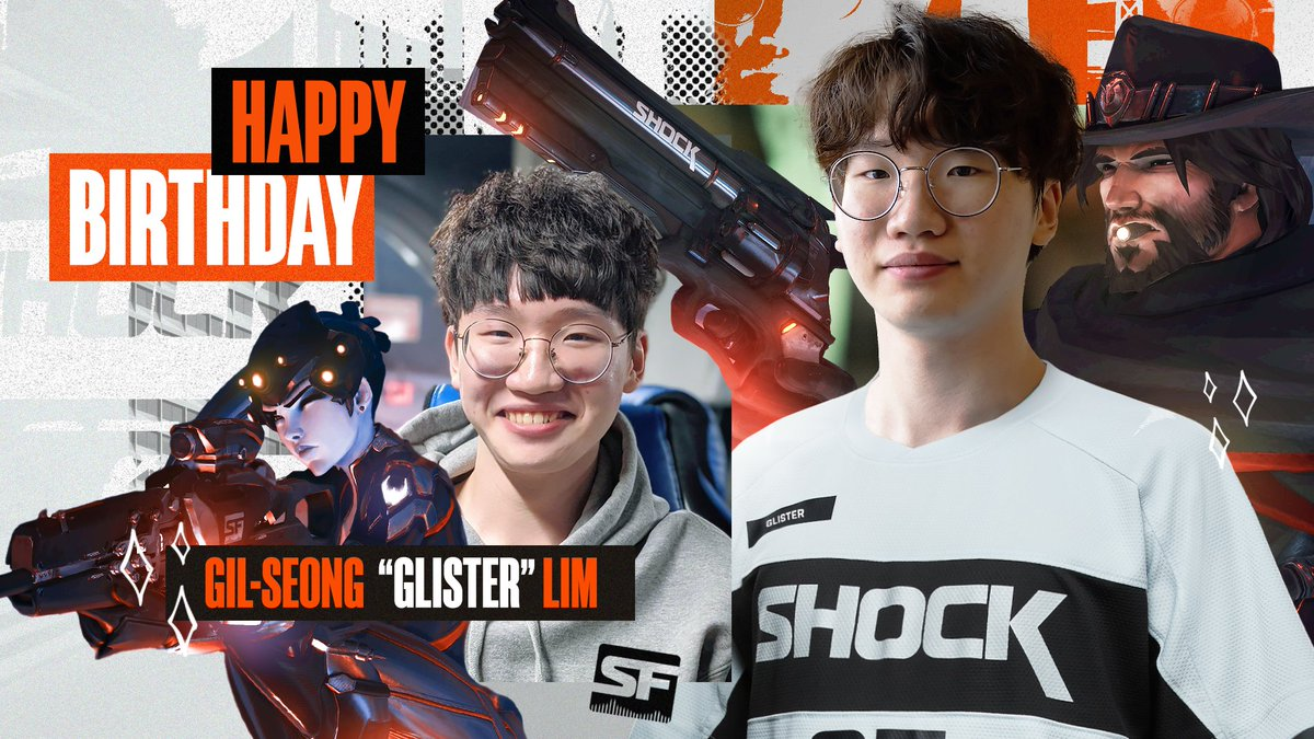 ✨ HAPPY BIRTHDAY GLISTER! ✨ Join us in wishing the newest member of our team a very happy birthday 🥳🎂