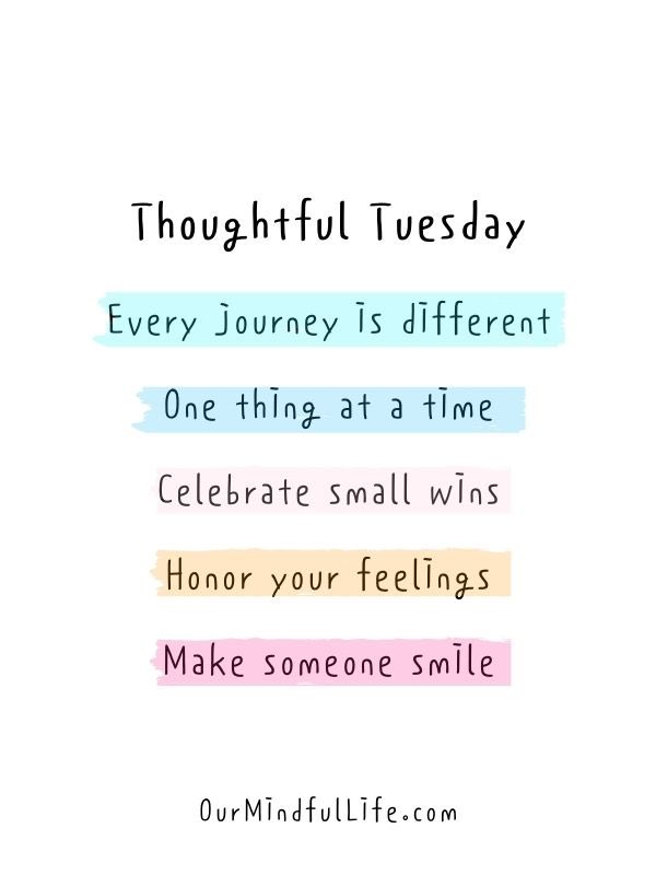 Good morning, friends! Happy Tuesday. Be thoughtful of others. Everyone is facing different joys and struggles. Be the reason someone smiles today. Smiles make everyone feel better! #tuesdaymotivations #tuesdayvibe