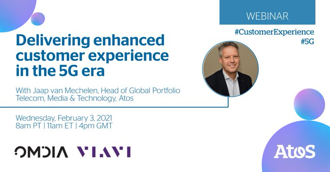 [#Webinar] Atos, @OmdiaHQ and @ViaviSolutions help CSPs understand the importance of...