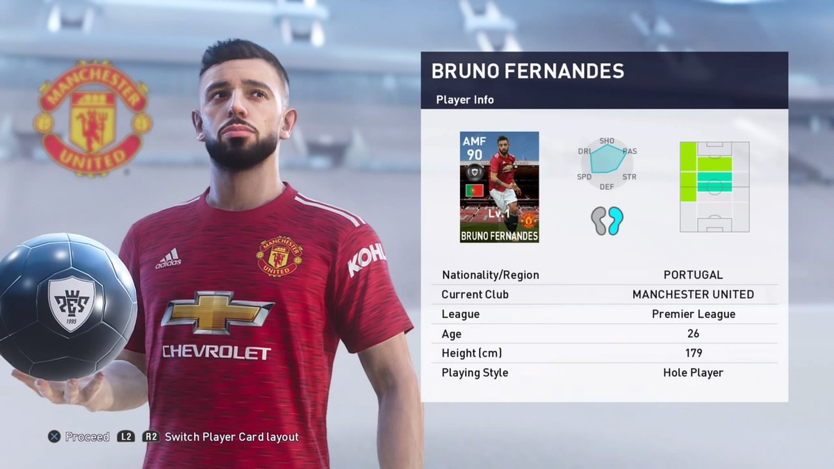 Manchester United Pack Opening - 2x Bruno Fernandes & McTominay #efootballpes2021 #Bruno #McTominay #MUFC #PS4share