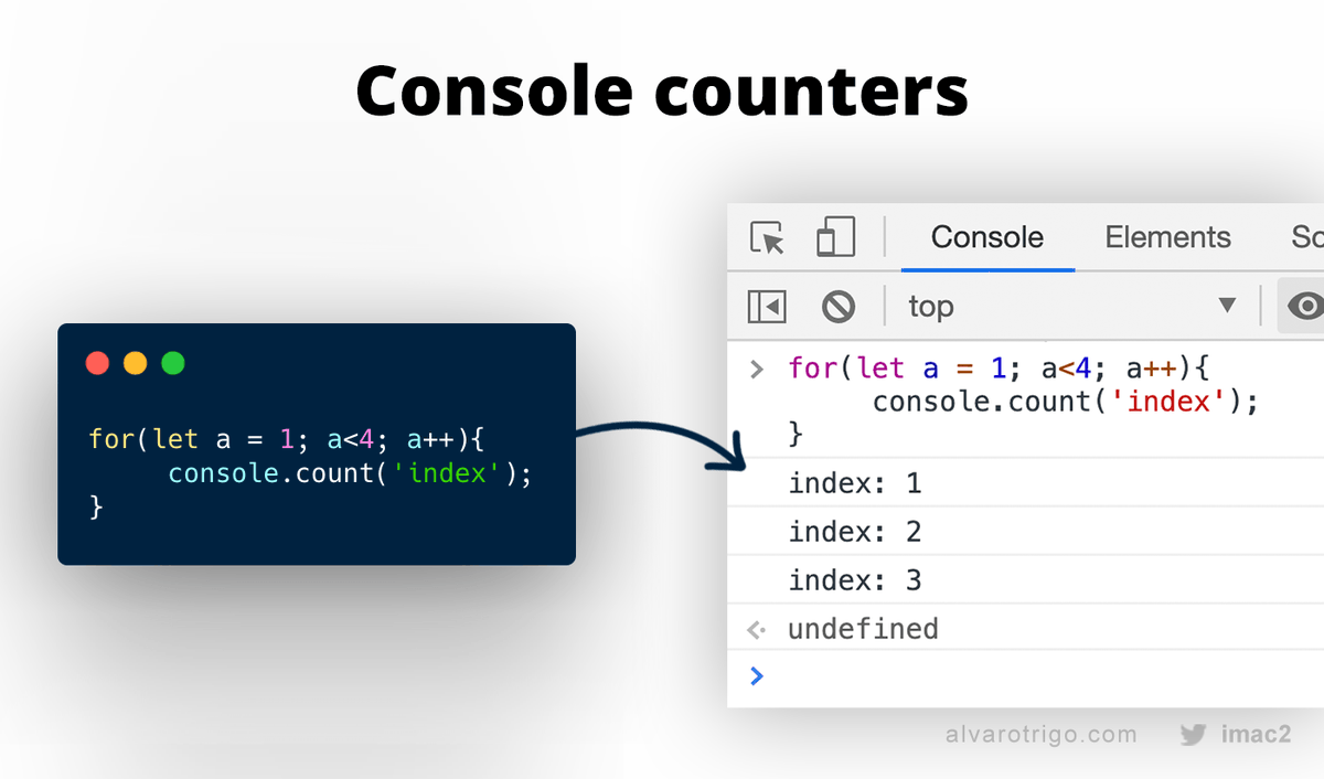 Replying to @IMAC2: Say bye to dummy counters for testing purposes!! 👋 Use console counters!