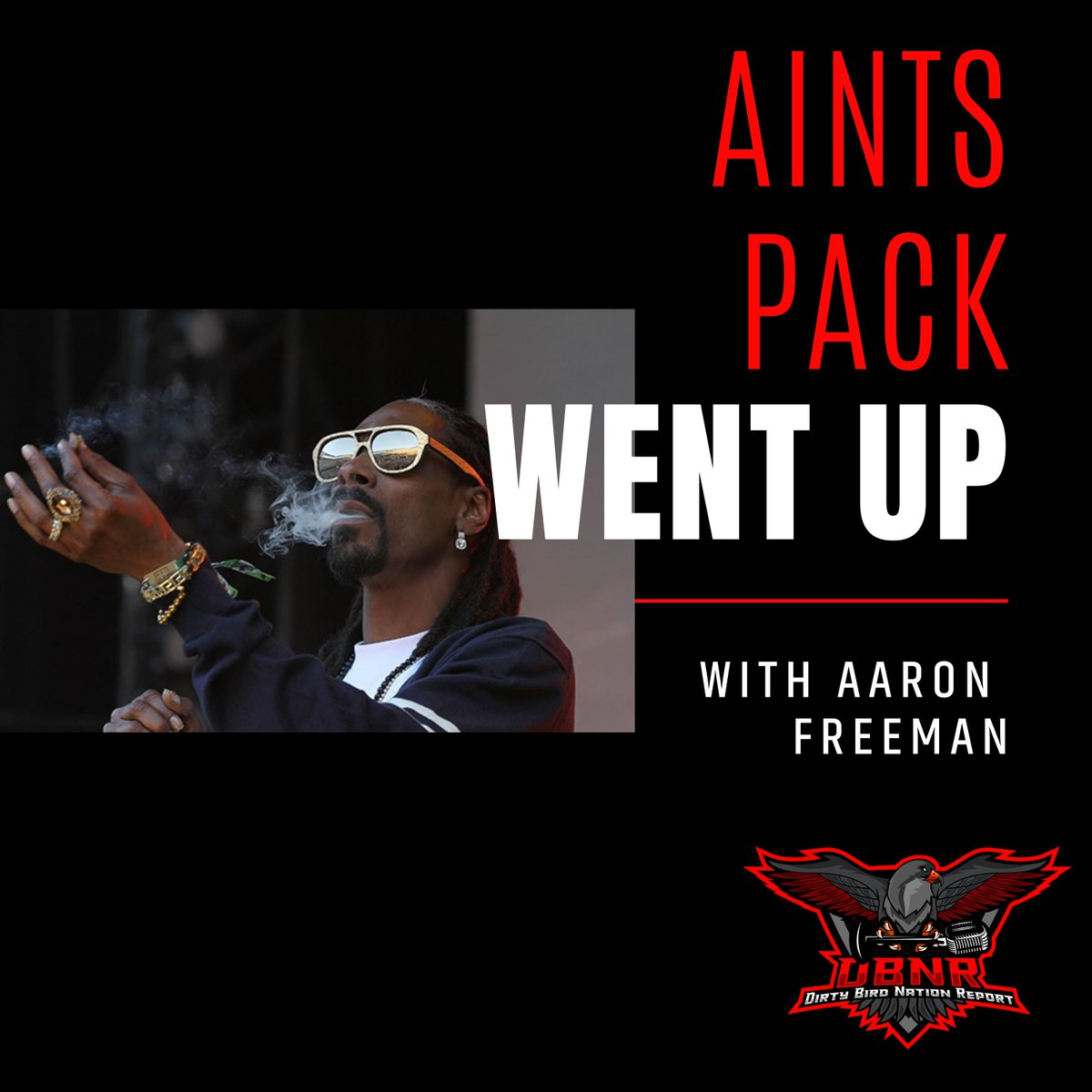🚨AINTS PACK WENT UP ft. @falcfans 🚨  -Why draft a QB when we have Kurt -Former coach has a black gf -Draft -And more #Youtube -  #SoundCloud -  #Applepodcasts -  #Spotify -   #Falcons