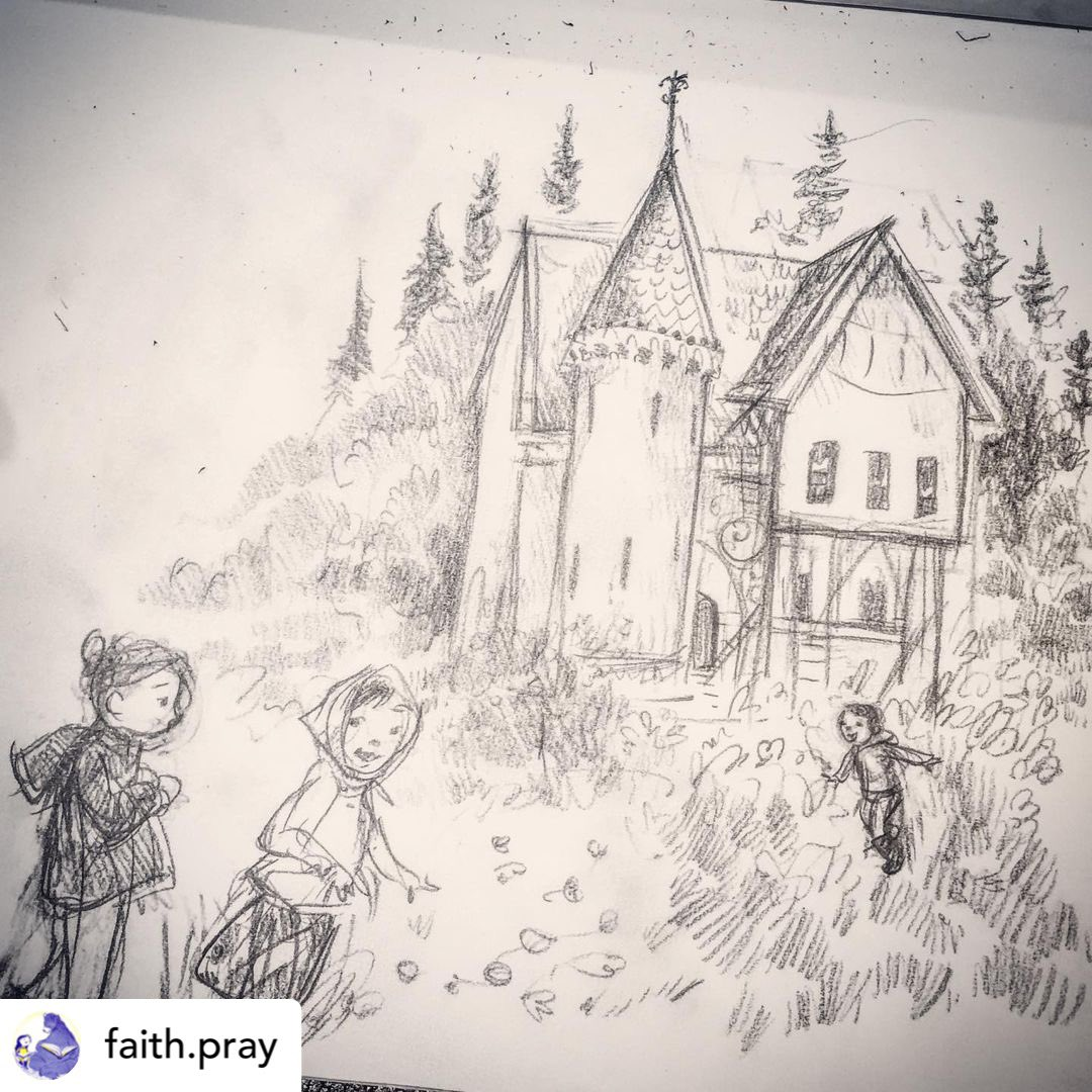 Our member Faith is recovering from shingles 💔 and even at that look at the fantastic sketch she did for our #DrawWithPJ challenge. Get well soon @faithpray7 ❤️ #PuddleJumpCollective