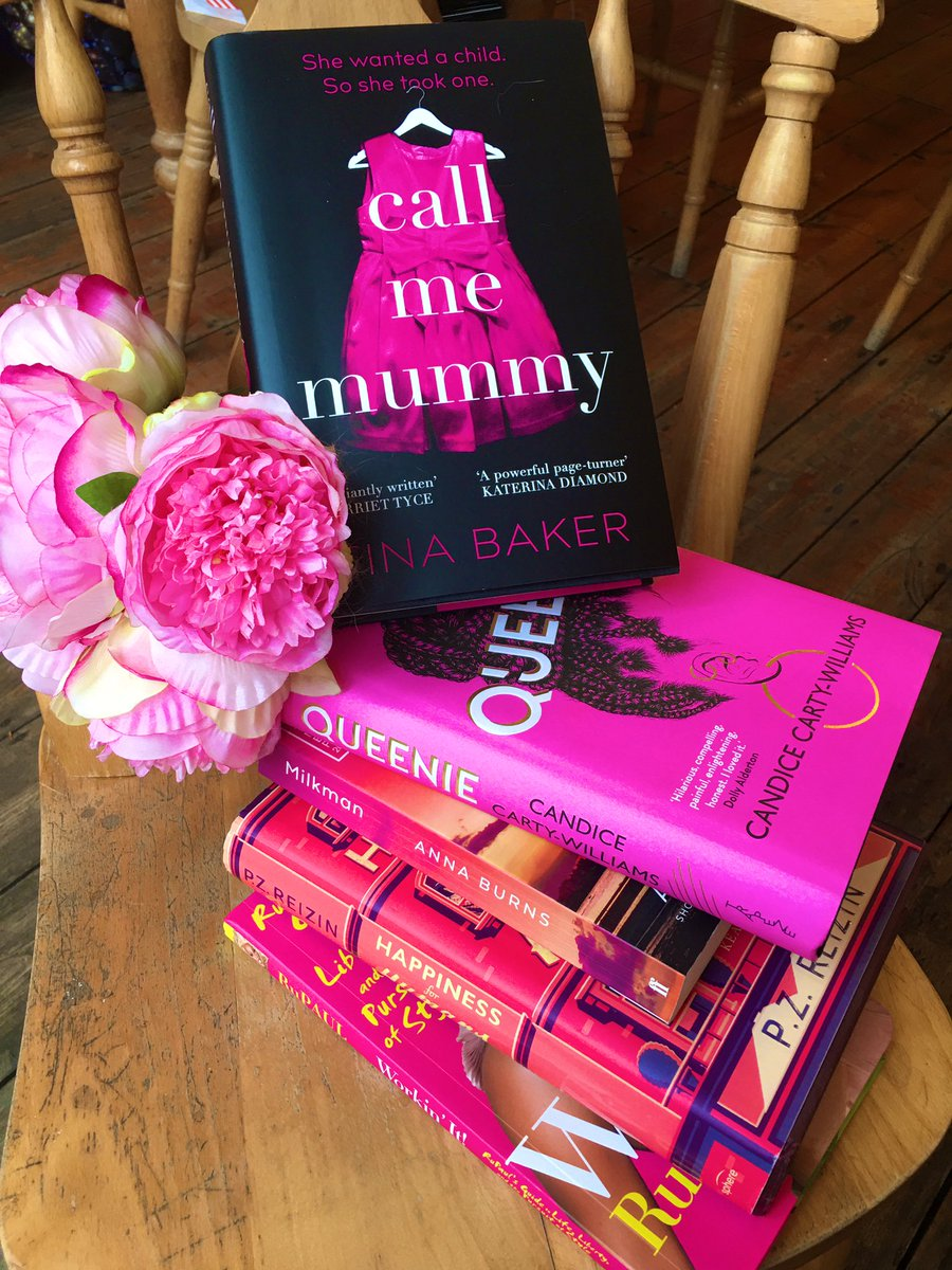 Mummy's first book stack! In the pink with these amazing books. Let's hope the publishing pixie dust rubs off.  Coming Feb 25th!!!!  #callmemummy @ViperBooks  #Debut